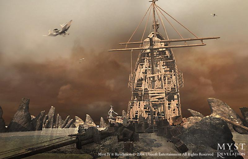 Image result for Myst IV Revelation