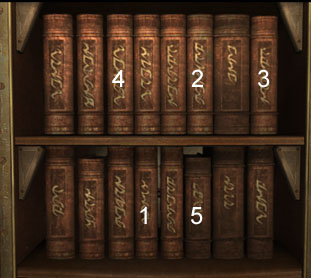 Once The Books On Bookshelf Have Been Translated There Will Be 5 Recognizable Ones If Pressed In Order Shown Left It Let You Down To Lower